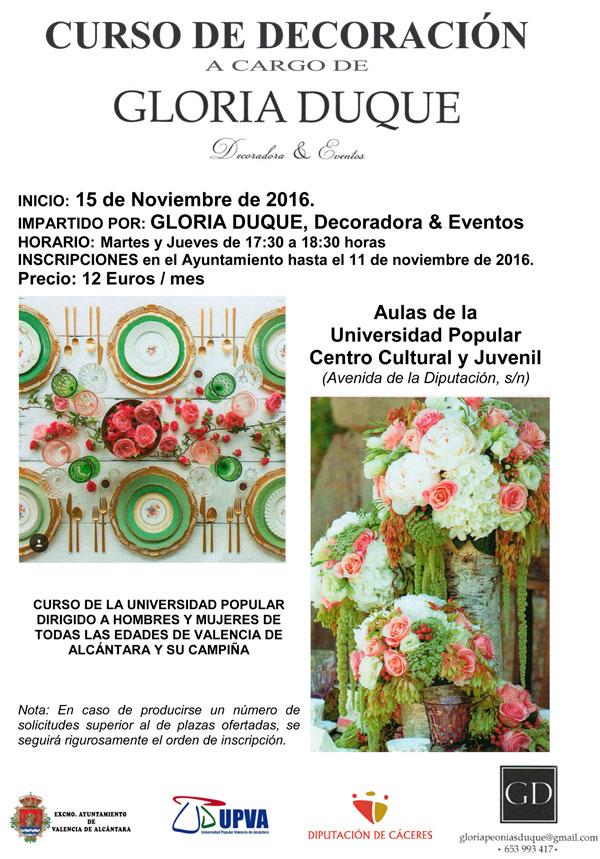 Curso de decoraci n de la universidad popular for Curso interiorismo valencia